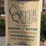 CopperQueenHotelSign
