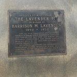 Harrison Lavender Memorial