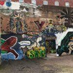 Murals are common